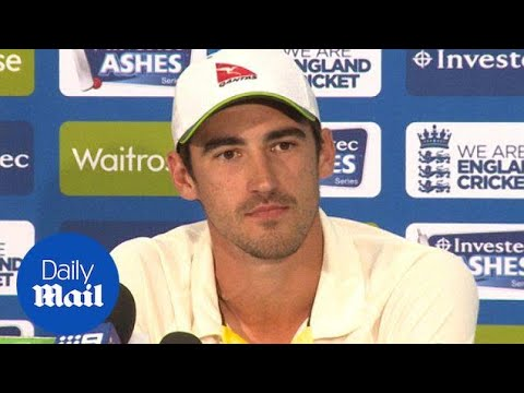 Mitchell Starc on Australia fighting till the end of test - Daily Mail