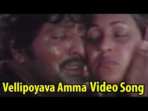 Vellipoyava Amma Video Song || Adavailo Anna Movie || Mohan Babu, Roja