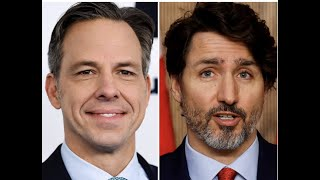 LILLEY UNLEASHED Jake Tapper VS. Justin Trudeau gets nastier