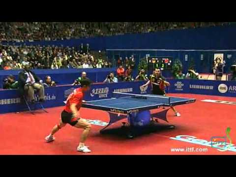 2012 World Team Table Tennis Championships.FINAL:  ZHANG Jike vs  BOLL Timo