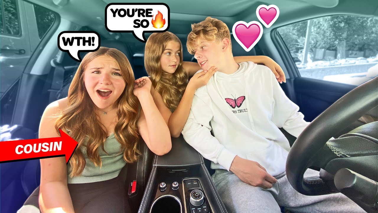 Flirting With My Cousin's BOYFRIEND To See How She Reacts PRANK **GONE WRONG** ?? |Claire Rocks