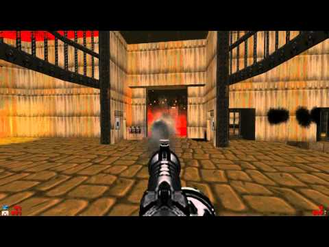 Brutal Doom V19 - Final Doom: The Plutonia Experiment - Map31: Cyberden |