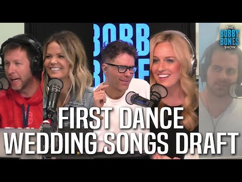 Our Draft Of First Dance Wedding Songs Youtube