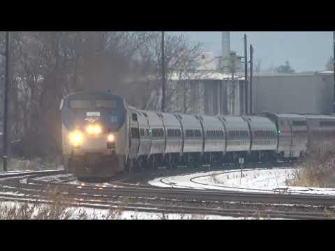 Trains Dashing Through The Snow