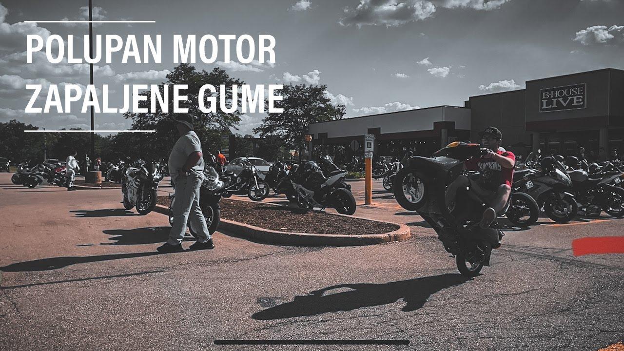 POLUPAN MOTOR,ZAPALJENJE GUME I JOS MNOGO TOGA...
