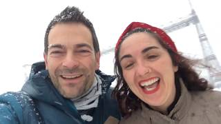 La mayor nevada en Bilbao en 30 años Euskadiz Vlogs 126