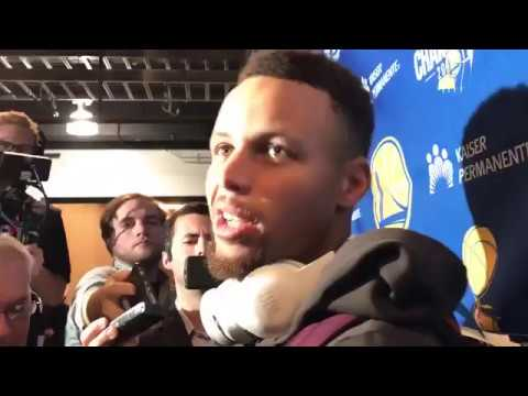 Steph Curry EJECTED throws mouth guard at ref - Post Game Interview