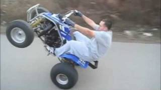 Blaster wheelies