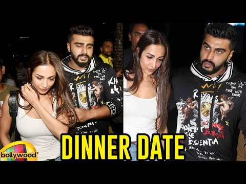 Arjun Kapoor And Malaika Arora Dinner Date | Arjun Kapoor and Malaika Arora Videos | Mango Bollywood