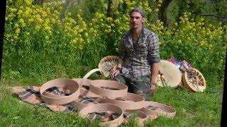...Costruzione tamburo Sciamanico...L