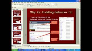 Selenium tutorial for beginners - video training (Selenium IDE installation and first test case)