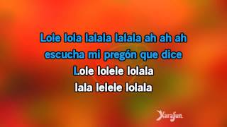 Karaoke El Cantante - Marc Anthony *