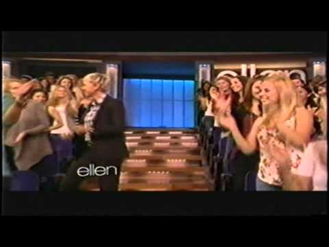 Ellen Just Dance Music Video