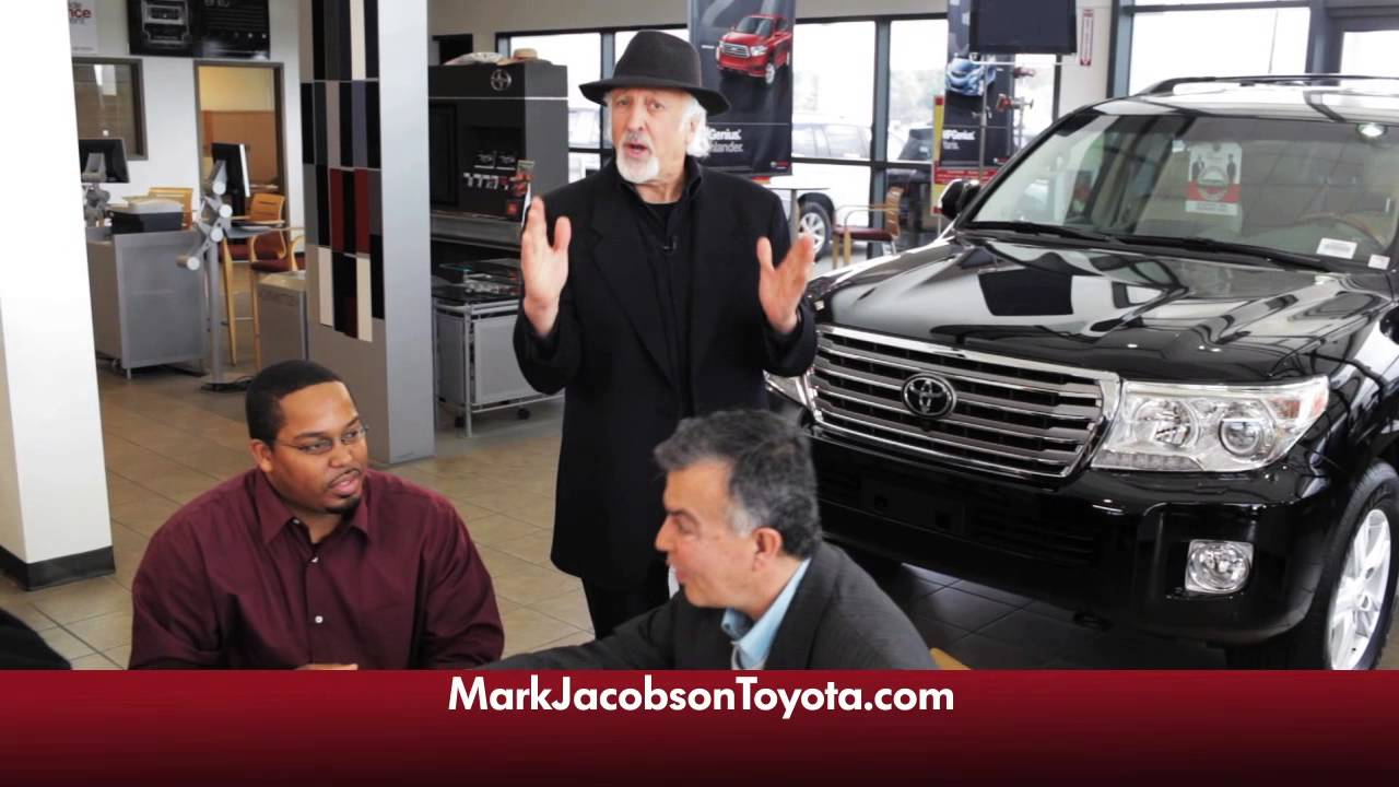 Mark Jacobson Toyota For All The Right Reasons Youtube