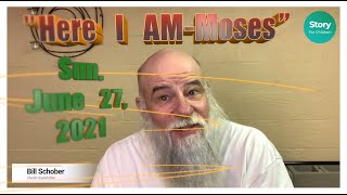 """Here I Am Series """"Moses"""""""