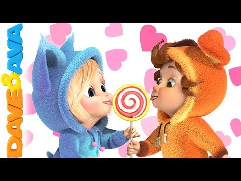 💝 Happy Valentine's Day | Nursery Rhymes & Kids Songs from Dave and Ava 💝
