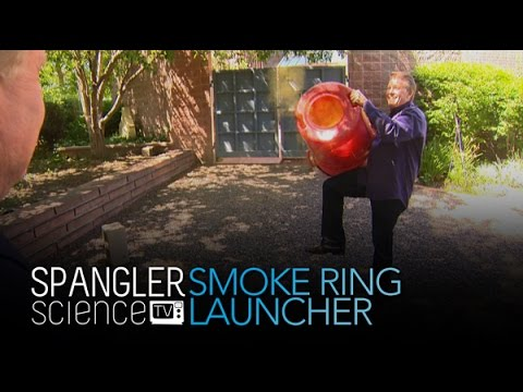 Smoke Bomb Smoke Ring Launcher - Cool Science Experiment