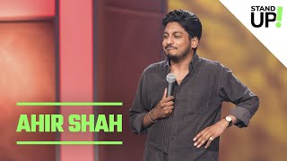 Comedian Ahir Shah Admits He's Been Colonized By His Own Accent