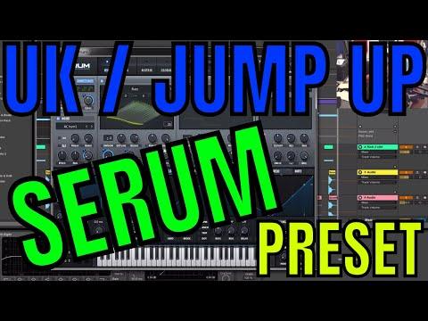 UK Jump Up Wobble in Serum [Free Preset Download]