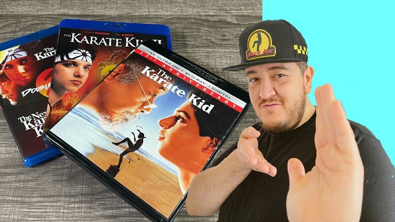 Download Trilogía de KARATE KID en Blu Ray & 4K