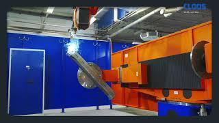 CLOOS - Kompakte Roboteranlage für maximale Flexibilität bei Henke