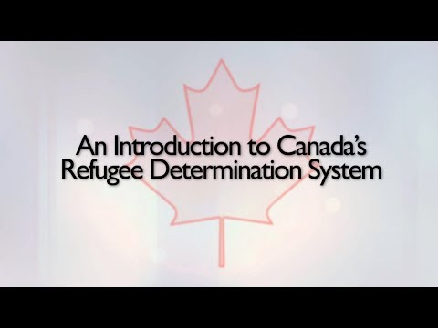 An Introduction To Canada's Refugee Determination System