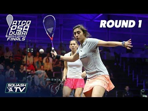 Squash: World Series Finals 2017/18 - Women\'s Rd 1 Roundup