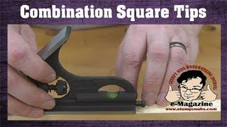 10 AMAZING things you can do with a combination square!