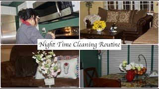 My Night Time Cleaning Routine | Indian (NRI) Mom