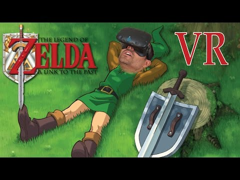 MAPA DE ZELDA EN REALIDAD VIRTUAL | Link to the past (HTC Vive)