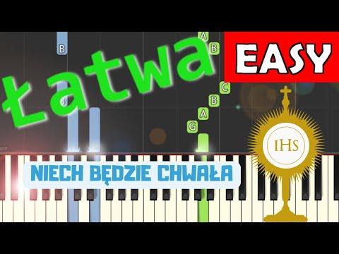 🎹 Niech będzie Chwała i Cześć i Uwielbienie - Piano Tutorial (łatwa wersja) 🎹
