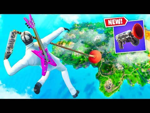 Can You GRAPPLER To Survive *MAX* Fall Damage In Fortnite Battle Royale?