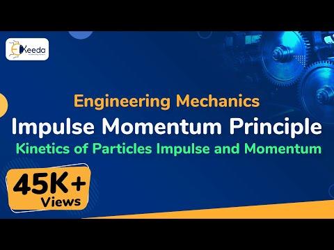 What is Impulse Momentum, Impact, Collision Between Elastic Bodies in Kinetics of Partice.