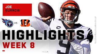 Joe Burrow Excels w/ 249 Passing Yds & 2 TDs | NFL 2020 Highlights