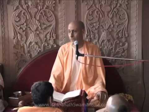 07-001 Morning Srimad Bhagavatam Class-2 by HH Radhanath Swami
