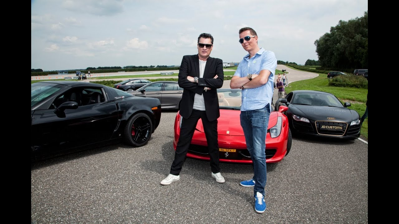 Taking akrapovic powered cars for a spin with rock legend barry hay
