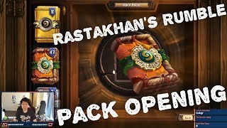 Disguised Toast Rastakhan's Rumble Pack Opening! Blizzard where are my Legendary Cards?!