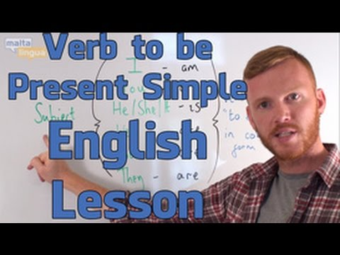 Present Simple 'To Be' - English Grammar Lesson (Elementary)