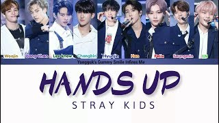 STRAY KIDS - HANDS UP (2PM COVER) COLOR CODED LYRICS (HAN|ROM|ENG)
