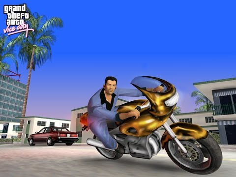 GTA Vice City all cutscenes HD GAME