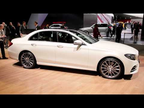 2017 Mercedes Benz E Class Review Ratings Specs Prices And Photos The Car Connection