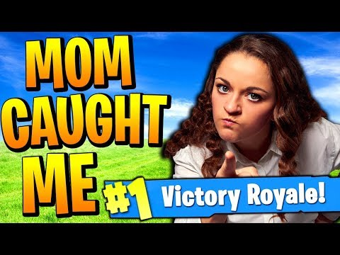 MY MOM WALKED IN ON ME… (Fortnite Battle Royale Funny Moments)