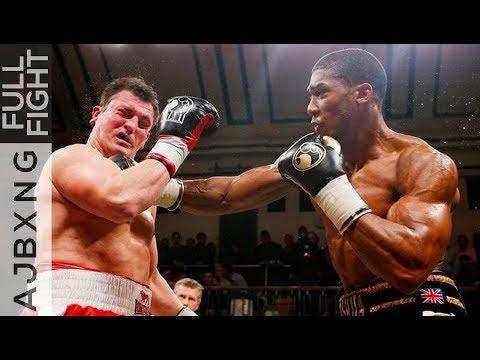 Full Fight | AJ Vs Hrvoje Kisciek TKO