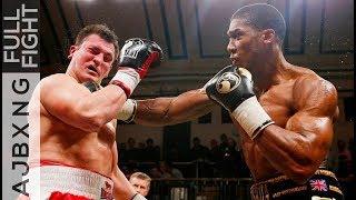 Full Fight | Anthony Joshua Vs Hrvoje Kisciek TKO