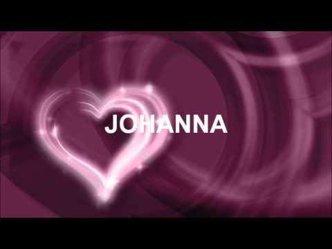 Joyeux Anniversaire Johanna Youtube