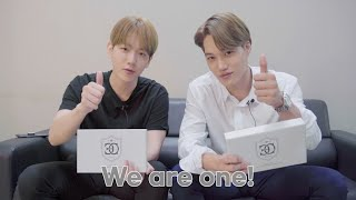 [BAEKHYUN/KAI] 2020 'EXO-L'-ACE 회원 OFFICIAL KIT UN-BOXING