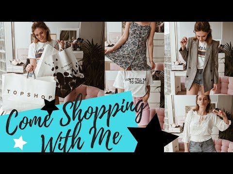 COME SHOPPING WITH ME & Try On! || Oxford Street || Topshop, &OtherStories, Zara etc|| COCOA CHELSEA