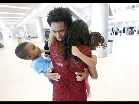 Feyisa Lelisa reunites with family