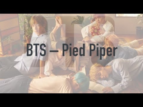 BTS – Pied Piper рус. саб