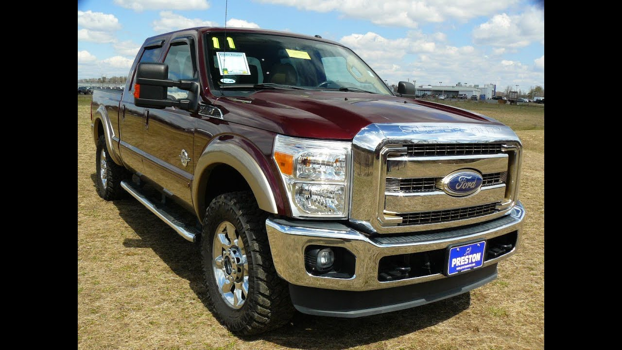 Used Truck For Sale Virginia Ford F250 Diesel V8 Powerstroke Crew